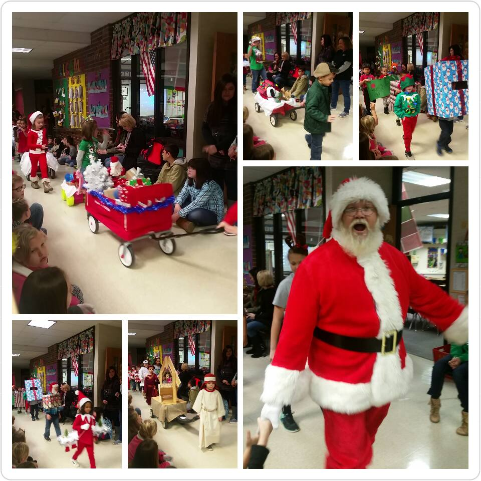 Kindergarten Christmas Parade