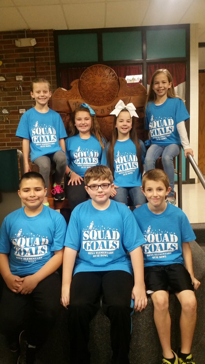 2017 Fourth Grade Quiz Bowl Team