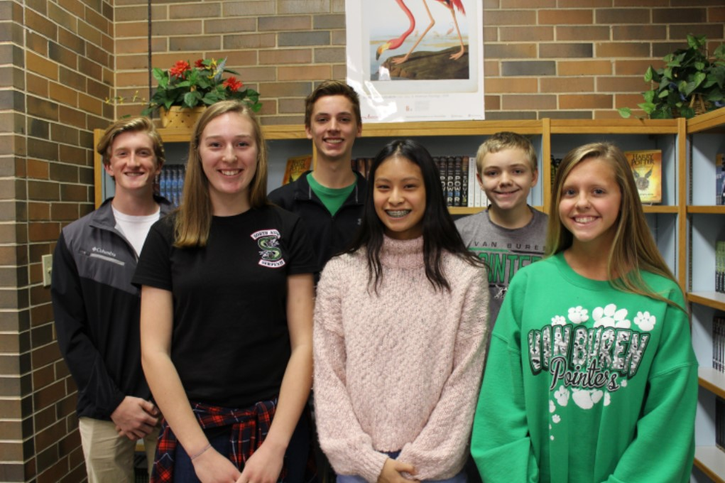 Congratulations to our November Freshmen of the Month