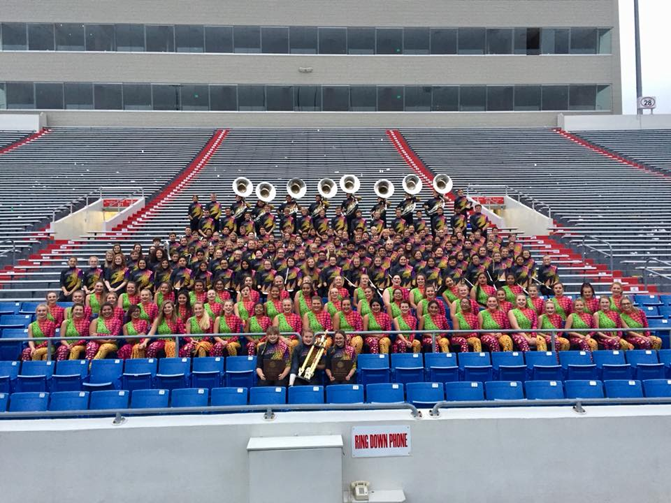 VBHS Marching Band Named State Champions!
