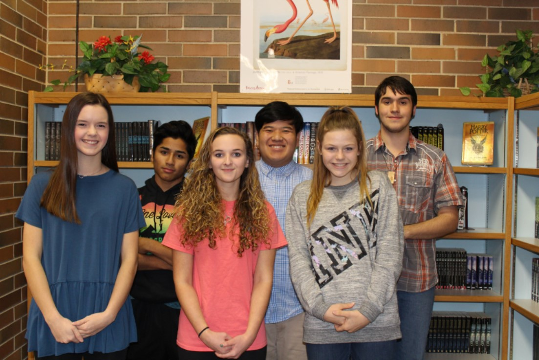 Congratulations December Freshmen of the Month: