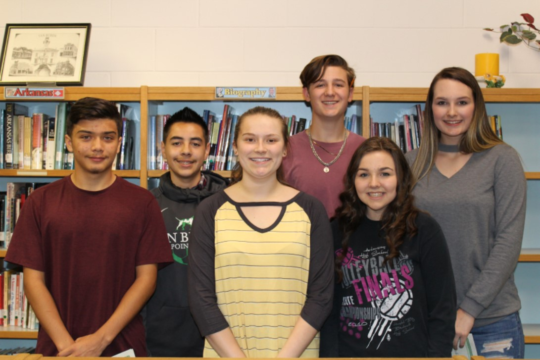 Congratulations February Freshmen of the Month: