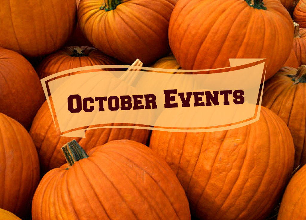 Upcoming October Events