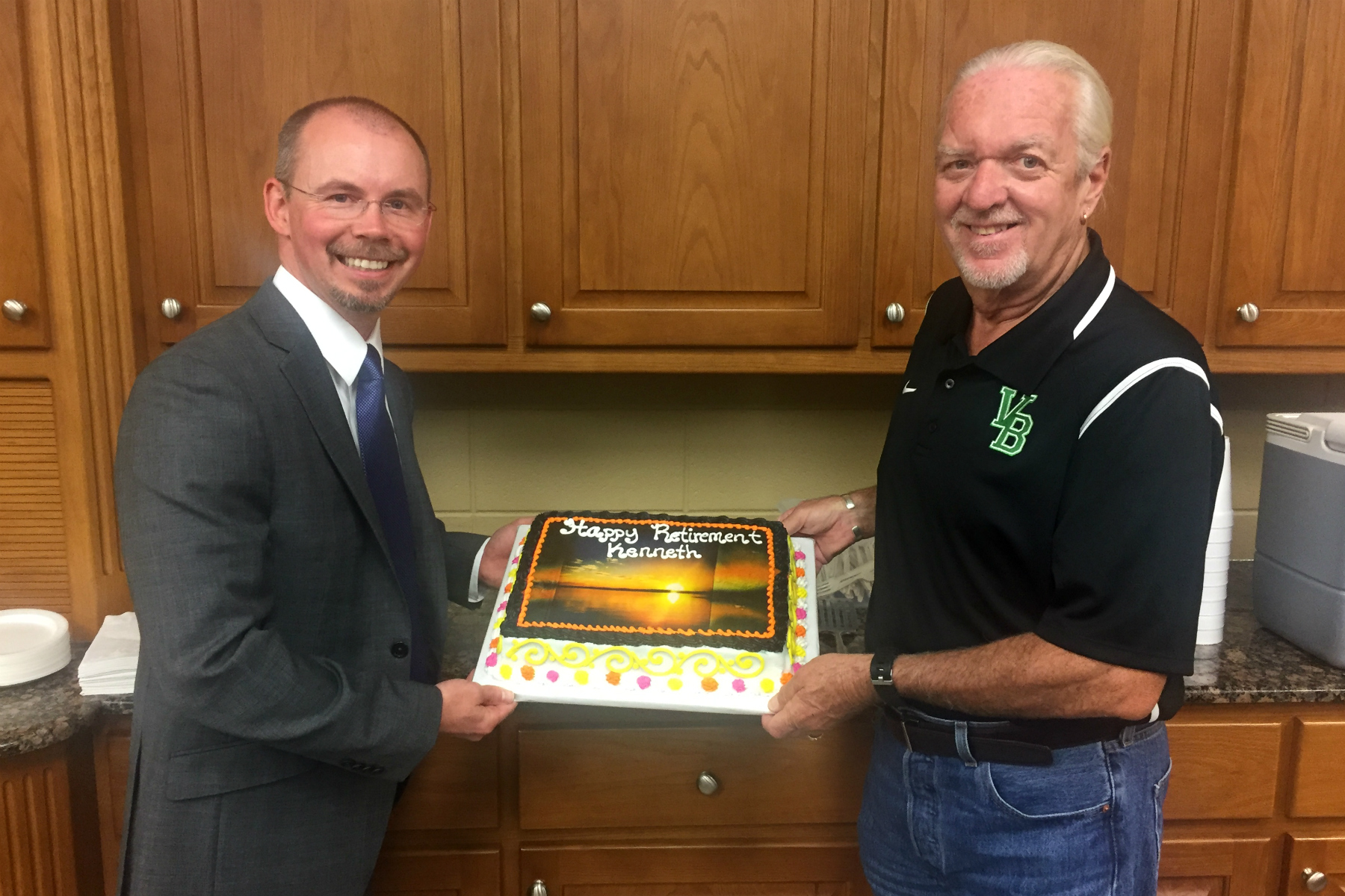 Board of Education honors retiring local editor, Kenneth Fry