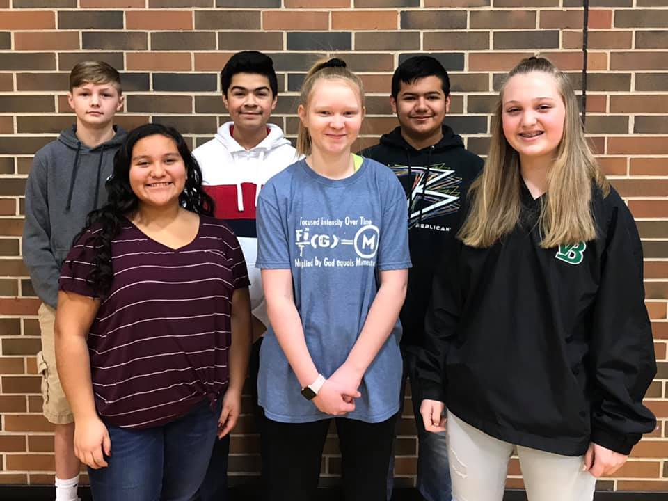 Congratulations January Freshmen of the Month: