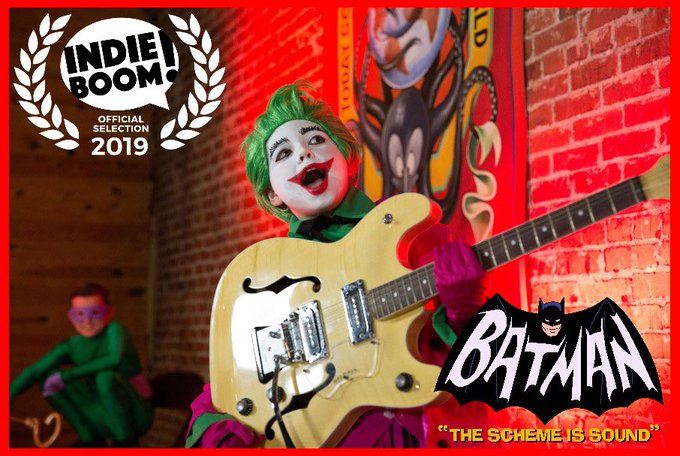 Parkview Music Club's Batman Video selected for IndieBoom Festival