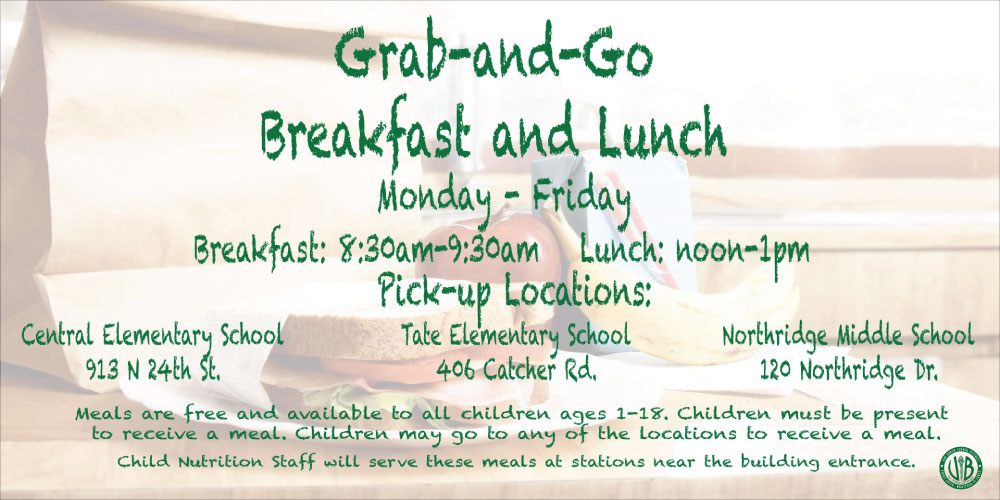 VBSD to serve breakfast and lunch beginning March 30