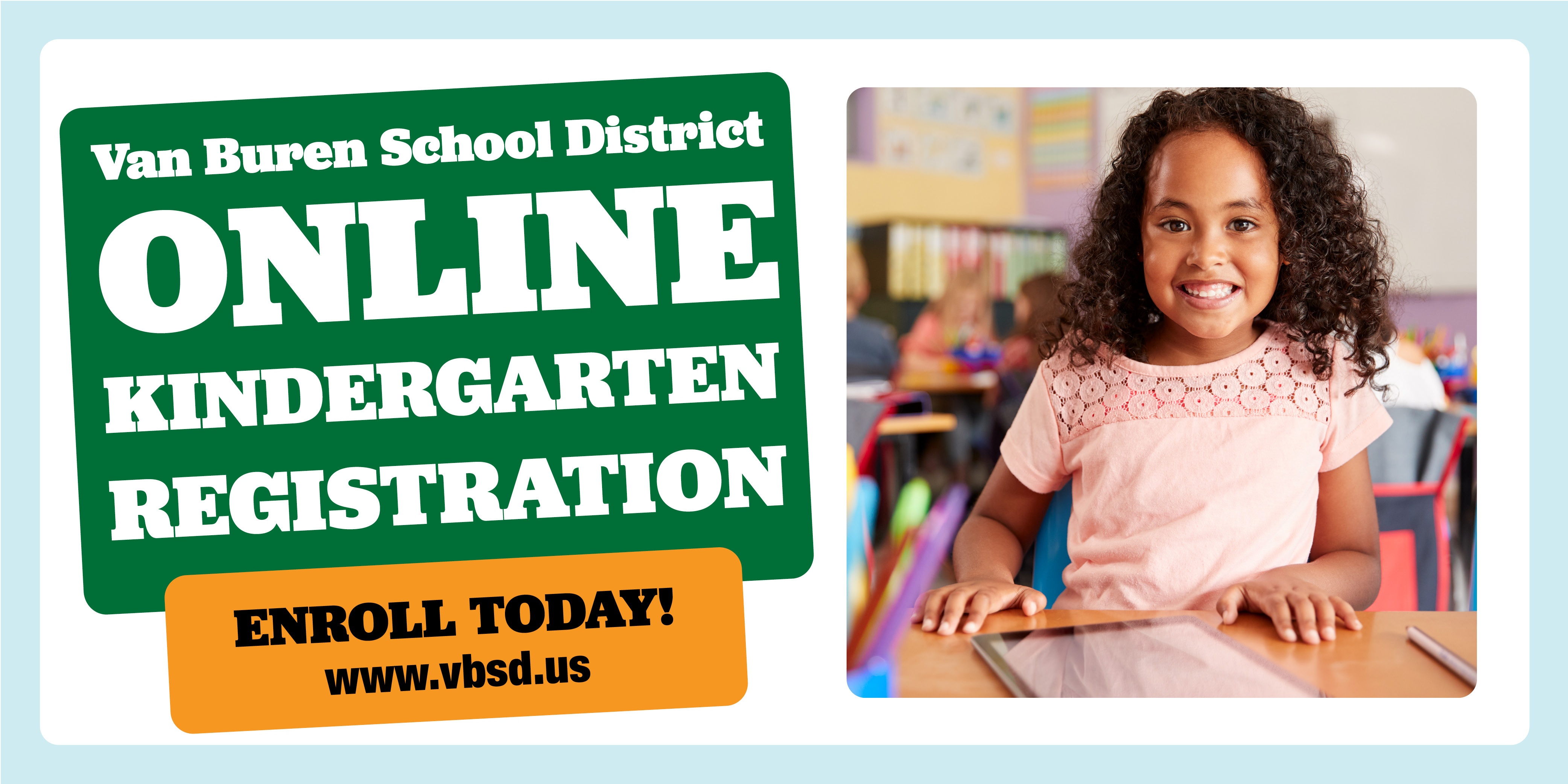 Register for Kindergarten by July 31